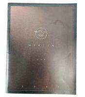 Merlin Titanium Bicycle Catalog Year 2001 Road / MTB