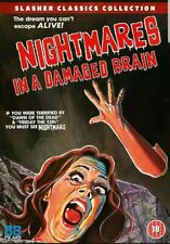 NIGHTMARES IN A DAMAGED BRAIN - DVD - Uncut Version  NEW & SEALED  FREE P&P
