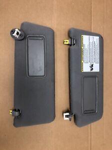 2013 Toyota Tacoma Sun Visors Set Used