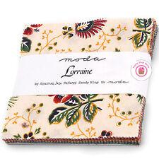 "Moda LORRAINE American Jane CHARM PACK Kit 42- 5"" squares"