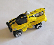 Micro Sized Version of the Hot Wheels XS-IVE Futuristic Jet Truck, Loose, Yellow
