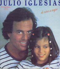 JULIO IGLESIAS de nina a mujer Columbia Vinyl LP 33 Latin Album EX Stereo 1981