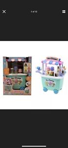 PlayGo Ice Cream Cart Gourmet Colourful Ice-cream cart Kids Toys Shop BNIB New