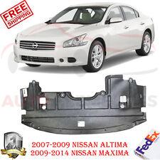 Front Engine Splash Shield For 2007-2009 Nissan Altima / 2009-2014 Nissan Maxima