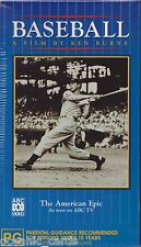 Baseball a Film by Ken Burns VHS Aus - and