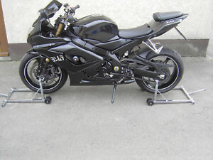Motorradständer Set für vorne & hinten höhenverstellbar 2 Montageständer Heber