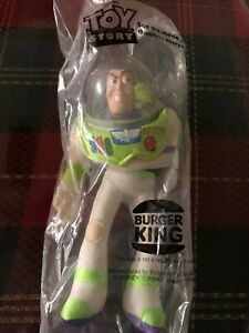"Toy Story Buzz Lightyear 9"" hand puppet from Burger King 1995 New"