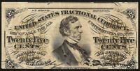 25 CENT FRACTIONAL CURRENCY UNITED STATES NOTE OLD PAPER MONEY Fr 1294