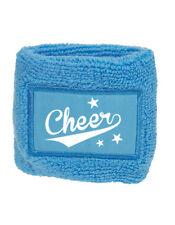 Schweißarmband hellblau, Cheerleading, Cheerleader, Wristband, Sport, Freizeit