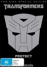 TRANSFORMERS: Protect DVD 2-DISCS SPECIAL EDITION BRAND NEW SEALED Region 4