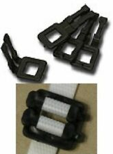 More details for 1000 x strong plastic buckles for 12mm wide polyprop pallet strapping banding