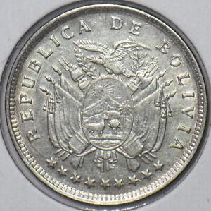 Bolivia 1909 20 Centavos Eagle animal 295896 combine shipping