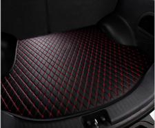 2007-2011 For Honda  CRV Rear Cargo Liner Tray Leather Trunk Floor Mat Cover