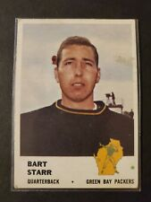 1961 Fleer #88 Bart Star HOF Hall of Fame Nice Original Card