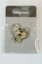 Disney Store Japan Pin Silver Heart Mickey Jds