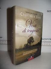 LIBRO Charlotte Link VENTI DI TEMPESTA 2^ed.2006 Traduzione Alessandra Petrelli