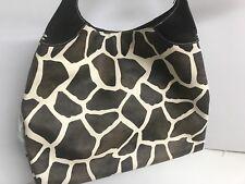 GIRAFFE PRINT XL SLOUCHY SHOULDER  BAG *NEW *  **SALE**