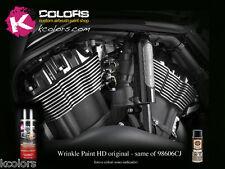 Vernice Raggrinzante Harley Davidson Spray Motore BLACK 9005 VHT wrinkle plus