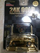 NASCAR Racing Champions 24K Gold Plated #36 Nascar 50th Anniversary 02448