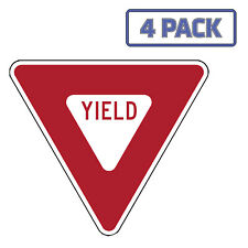 Yield Sign Sticker Vinyl Decal 1-1037