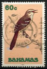 """Bahamas 1991 SG#902, 60c Birds Definitives """"1991"""" Imprint Date Used #D42964"""