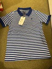 NWT Joules Boy's Polo Stripe Shirt  Size 9/10