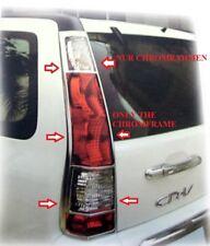 CHROME feu arrière cadre HONDA CR-V à Partir De Bj. 2005-2006 Type RD seulement Facelift