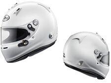 Arai GP-6 PED w/ HANS anchors White S SA2010 Car Racing Helmet