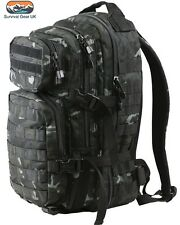 Kombat BTP Black Small Assault back pack / daysack 28 Litre  MTP / Multicam