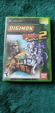 Digimon: Rumble Arena 2 (Microsoft Xbox, 2004) Case and Manual only NO DISC
