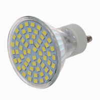 GU10 4.5W bianco 60 SMD 3528 LED Spot Light Lamp 220V AC Lampadina K7R6 B7I1