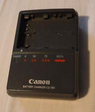 GENUINE CANON CG-580 CHARGER EOS D30 D60 300D 50D 40D 30D PowerShot G6 G5 G3 G2