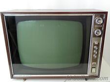 Vecchio televisore marca Emerson,cassa in legno,televisori vintage 60/70 a665