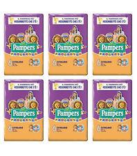 108 Pannolini PAMPERS PROGRESSI Pannolini Bambini taglia 6 Extralarge 16+ kg