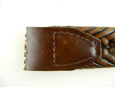 """Club Room $55 Brown MEN Leather SIZE 35-36 WIDTH 1.25"""" BELT *STRAP ONLY* NWD Y13"""