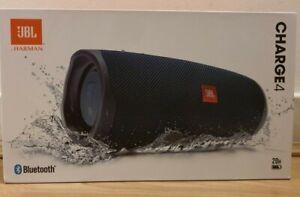 Brand New JBL Charge 4 Portable Bluetooth Speaker - Black Colour