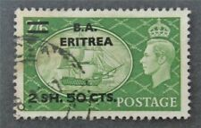 nystamps Great Britain Offices Abroad Africa Eritrea Stamp # 31 Used $30