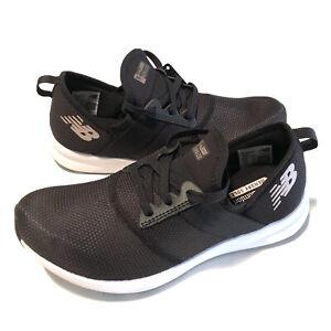 New Balance Women's FuelCore Nergize V1 Sneaker Black White Rose Gold Size 7.5