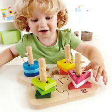 E0411 Hape Creative Wooden Peg Puzzle Early Melodies Toddler Children 18m