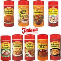 Indasia Gewürze - Appetitwürzer, Knoblauchpfeffer, Grill-Spießbraten(2,57€/100g)