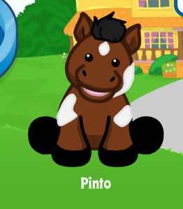 Webkinz Pinto Virtual Adoption Code Only ~*Messaged*~ Webkinz Horse Code Pinto!!