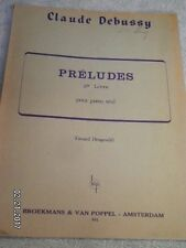 CLAUDE DEBUSSY..PRELUDES 2e LIVRE FOR PIANO..68 PAGES...