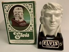Elvis Presley Bust McCormick Bourbon Whiskey Decanter Limited Edition 1977 EMPTY