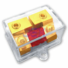 AFS In-Line Fuse Holder upto 4GA Stereo/Audio/Car/RV/Boat + AFS Fuse 30A-100A n