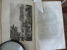 DULAURE 1825 HISTOIRE DES ENVIRONS DE PARIS complet en 7 volumes dos à restaurer