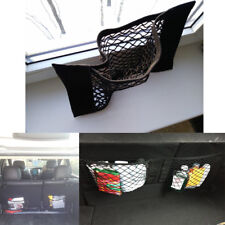 Car Trunk Interior Organizer Cargo Net Rear Seat Bag Mesh Storage Holder Pocket