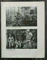 AQ) Blatt 2.WK 1940 Deutsches Infanterie Geschütz Granatwerfer Rzesna Ruska WWII