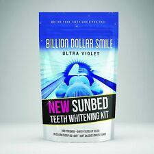 New Billion Dollar Smile ULTRA VIOLET Sunbed Teeth Whitening Kit Non Peroxide