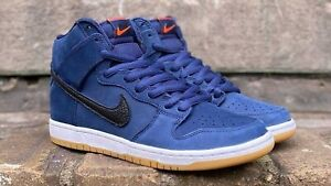 NIKE SB DUNK HIGH PRO ISO ORANGE LABEL OBSIDIAN (CI2692-401) US 10