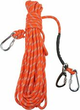 New ListingPortable Overhead Trolley System for Dogs up to 200lbs Dog Lead for Yard,Camping